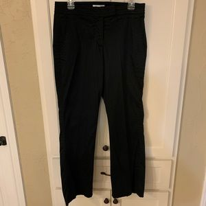 Coldwater creek size 12 petite class black pants